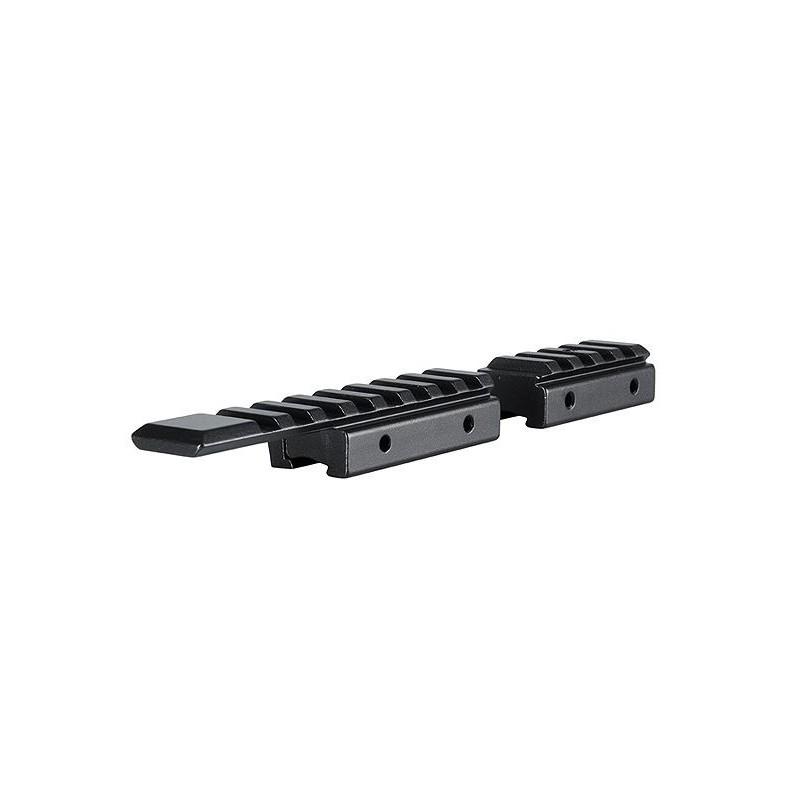 Adaptador Base 2 Piezas 11 mm Pistola / 3.8´´ Weaver/Picatinny