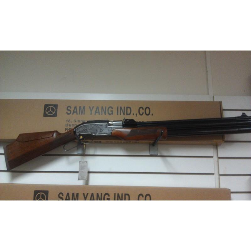 Rifle PCP Sumatra 2500 calibre 5.5 500cc