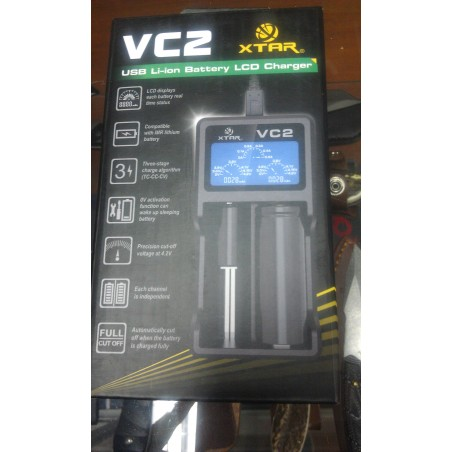Cargador VC2 XTAR