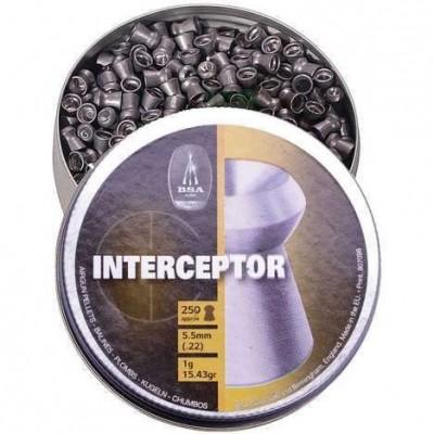 BSA Interceptor 4.5/.177 y 5.5/.22