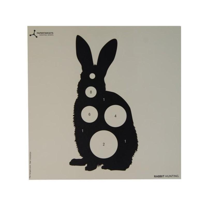 Diana flip target Conejo (papel)