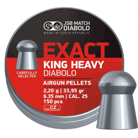 JSB Exact King Heavy (6.35)