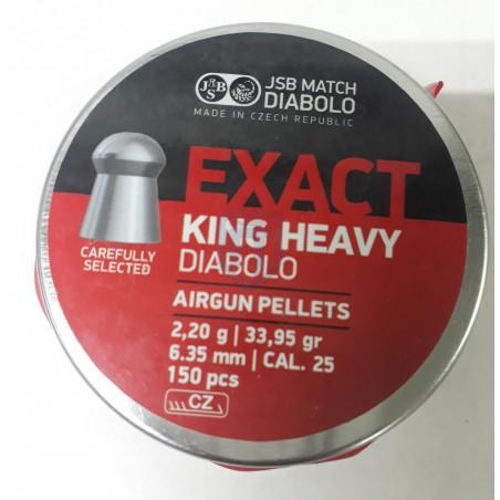 JSB EXACT KING HEAVY 6.35mm...