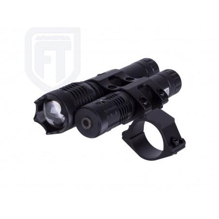 Kit Laser/LED Rojo Hawke