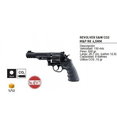 Revolver Smith & Wesson R8