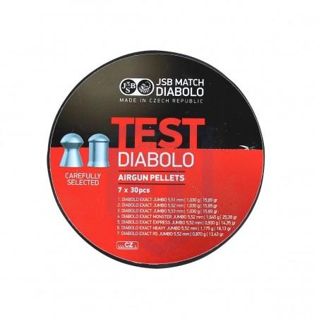 JSB MATCH TEST RED 7X30...