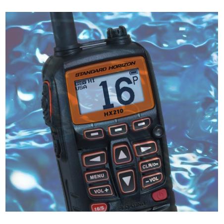 RADIO HX210 - STANDARD HORIZON